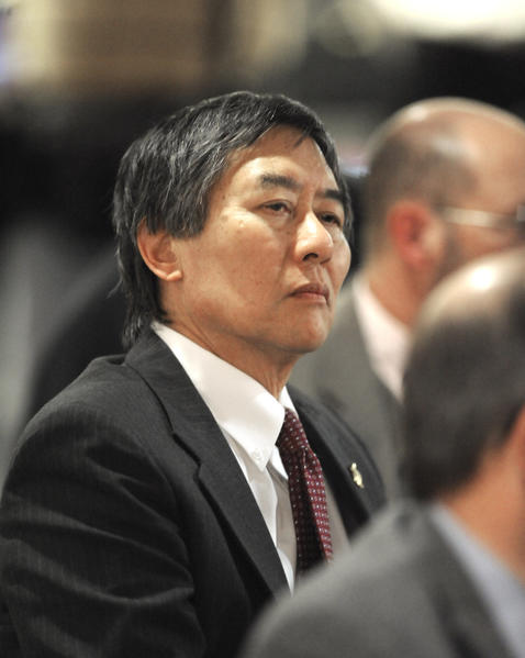 University president Wallace D. Loh will brief officials on the schools proposed move to the Big Ten.