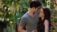 "In the end, ""Breaking Dawn"" couldn't generate as much light as ""New Moon."""