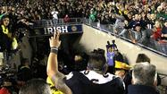 Notre Dame vaults from No. 3 to No. 1 in hours after flurry of upsets
