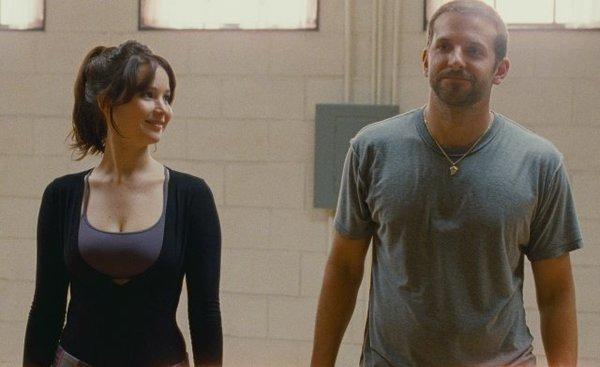 "Jennifer Lawrence and Bradley Cooper star in ""Silver Linings Playbook,"" which did better than ""Anna Karenina"" at the box office this weekend."