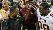 "<span style=""font-size: small;"">Bethune-Cookman got what it wanted Sunday when the NCAA Football Championship Series selection committee awarded the 9-2 MEAC champs with a first-round home game to open the playoffs.</span>"