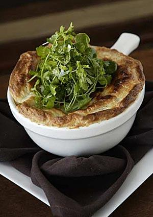 Herb pot pie