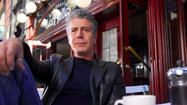Anthony Bourdain, back in Baltimore, with some thoughts about Guy Fieri