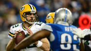 DETROIT -- Aaron Rodgers didn't feel the Green Bay offense played up to its usual lofty standards. It had to rely on the defense most of the way but Rodgers and his receivers got hot at the right time.