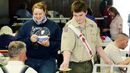 Just like many peoples' family Thanksgiving gatherings, there was good food, laughter and some good-natured ribbing during the Williamsport Moose Lodge's fourth annual community Thanksgiving meal on Sunday.