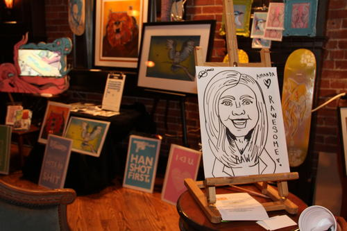 The RAWards Show held Thursday evening, Nov. 15., at The Russian Lady, 191 Ann Uccello St. in Hartford.