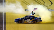 Brad Keselowski feels cool buzz of first NASCAR Cup title
