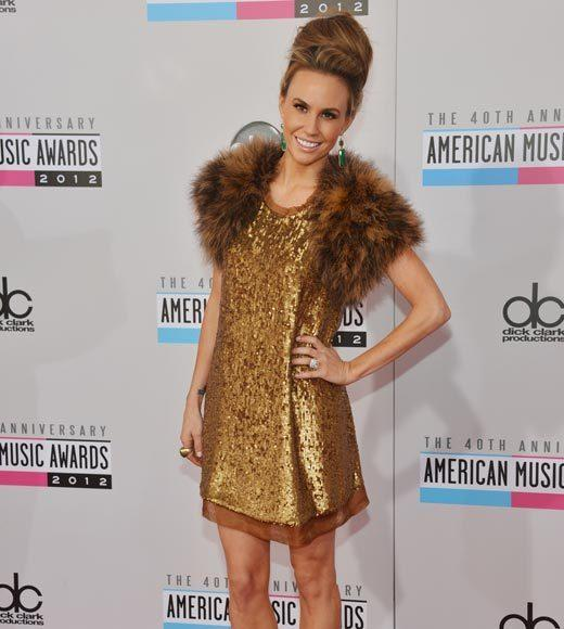 American Music Awards 2012 Red Carpet Arrival Pics: Keltie Colleen