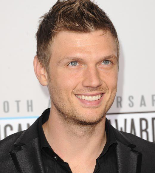 American Music Awards 2012 Red Carpet Arrival Pics: Nick Carter