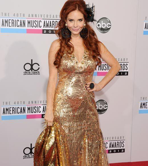 American Music Awards 2012 Red Carpet Arrival Pics: Phoebe Price