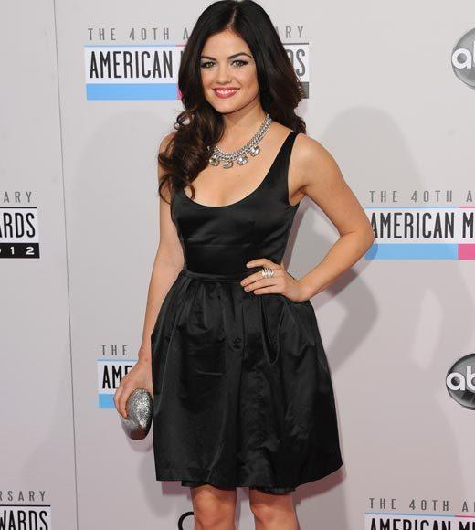 American Music Awards 2012 Red Carpet Arrival Pics: Lucy Hale