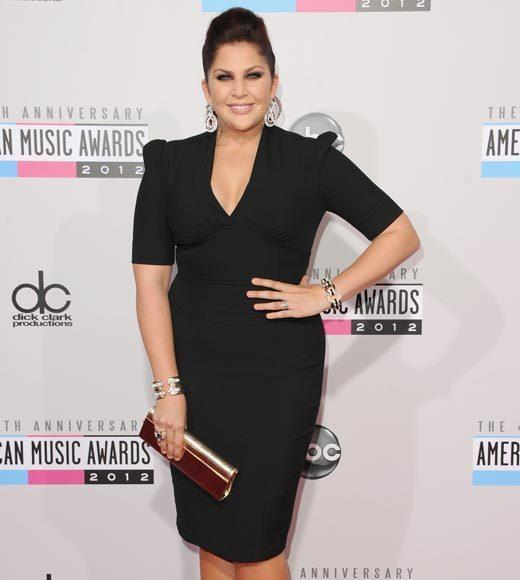 American Music Awards 2012 Red Carpet Arrival Pics: Hillary Scott