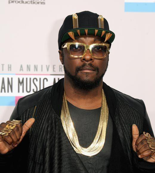 American Music Awards 2012 Red Carpet Arrival Pics: will.i.am