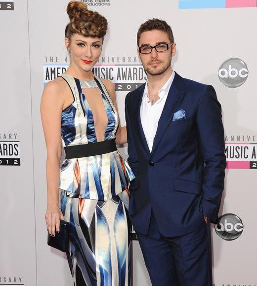 American Music Awards 2012 Red Carpet Arrival Pics: Amy Heidemann and Nick Noonan