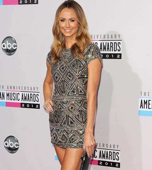 American Music Awards 2012 Red Carpet Arrival Pics: Stacy Keibler