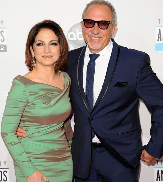 American Music Awards 2012 Red Carpet Arrival Pics: Gloria and Emilio Estefan
