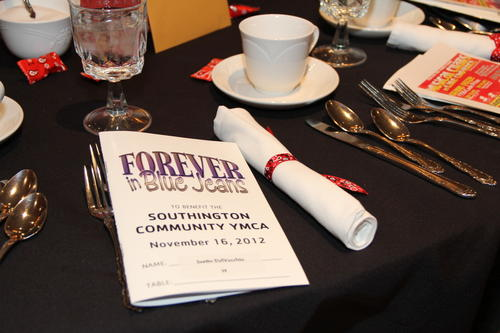 The 10th annual Southington Community YMCA Forever in Blues benefit held at the Aqua Turf in Southington Friday, Nov. 16.