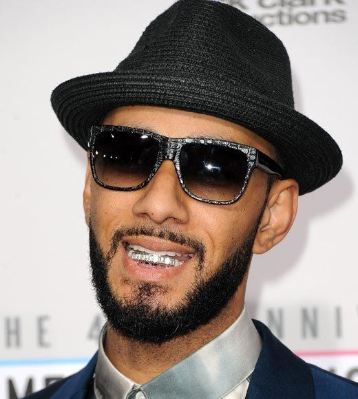 American Music Awards 2012 Red Carpet Arrival Pics: Swizz Beatz
