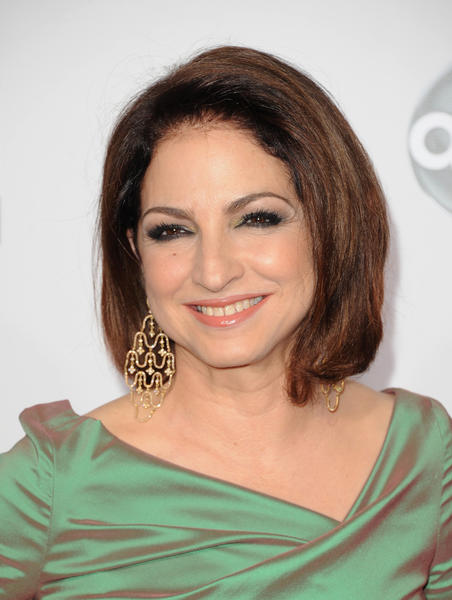Singer Gloria Estefan at the 40th American Music Awards.