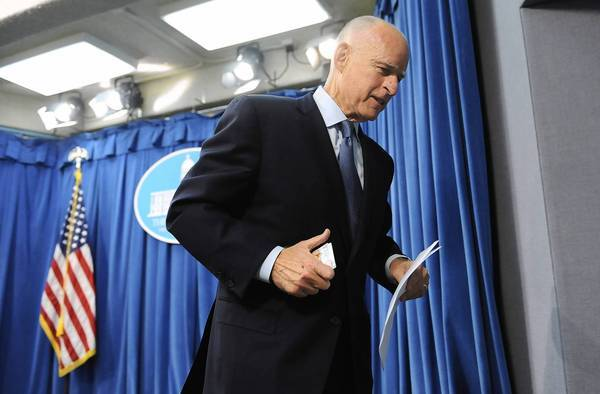 California Gov. Jerry Brown is about the only governor in the last half-century to have escaped the sophomore jinx that has plagued his predecessors.
