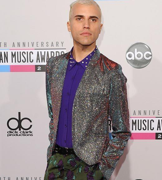 American Music Awards 2012 Red Carpet Arrival Pics: Tyler Glenn