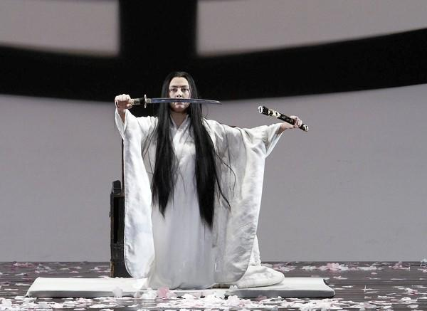"Oksana Dyka as Cio-Cio-San, seen in a dress rehearsal of L.A. Opera's production of Puccini's ""Madame Butterfly"" at the Dorothy Chandler Pavilion."