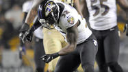 Ravens take a moment to celebrate win at Heinz Field