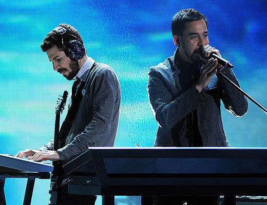 American Music Awards 2012: Best and worst moments: You know things have gone downhill when the men of Linkin Park (who picked up an award for Favorite Alternative Rock) are more clean-cut than the latest British import boy band.  -- Carina Adly MacKenzie, Zap2it