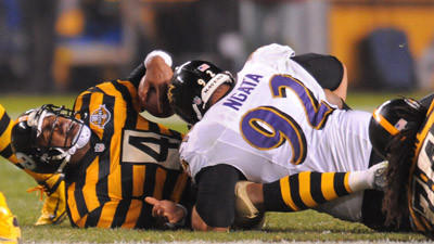 Ravens hold strong for 13-10 win over Steelers