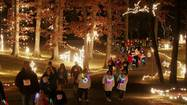 Columbia Symphony of Lights opens with Dazzle Dash