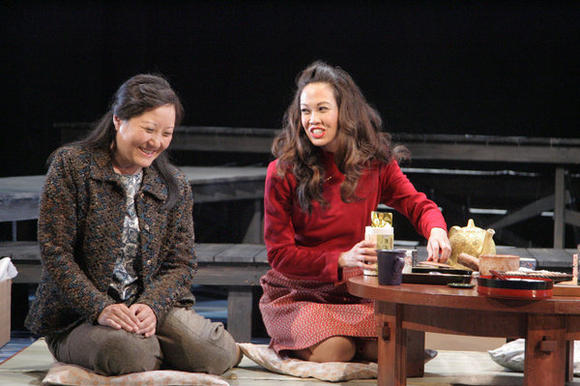 Production photo of 'Tea, with Music' at East West Players