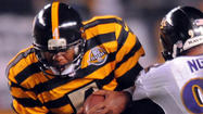 PITTSBURGH – Byron Leftwich completed less than 50 percent of his throws and earned a 51.3 passer rating in the Pittsburgh Steelers' 13-10 loss to the Ravens on Sunday night at Heinz Field, but the 32-year-old quarterback earned a measure of respect from a few Ravens defensive players.
