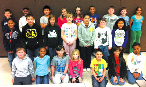 Eastern Elementary named its Citizens of the Month for October. Front row, from left, Kadin Holmes, Lanaya Frazier, Camden Barnes, Ava Demers, Anthony Perry, Michael Stratton and Ericka Schmidt. Middle row, Rolando Proctor, Carter Yellott, Kelly Bedard, Evelyn Frazier, Anna Teobal, William Morrison and Linda Quintanilla. Back row, Bryson Brawner, Yanirah Watkins, Brandan Sun, Taylor Gibson, Madison Hongell, Ryan Jones, Josh Hahn, Christopher Schloe and Selime Vitija.