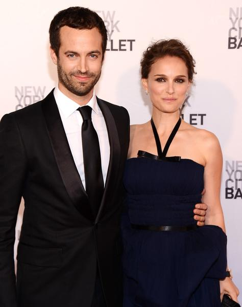 Benjamin Millepied and actress Natalie Portman