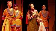 "The subtitle for director Kevin Bellie's production of ""Pippin"" at Circle Theatre promises ""A Bollywood Spectacular."" Before the show debuted, there was an uproar in theater blogs about the fact that a mostly white cast would be performing this conceptual fillip on Stephen Schwartz and Roger O. Hirson's 1972 coming-of-age musical."