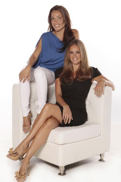 Nicole Carner and Brooke Gettler, co-owners of JustAir in Fort Lauderdale.