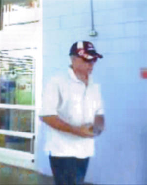 New security images of the suspect in Vi Ripken's disappearance, taken at a Middle River Walmart on July 26.
