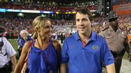 Gators' offense isn't sexy, but Will Muschamp's wife says he is | <b>Video</b>