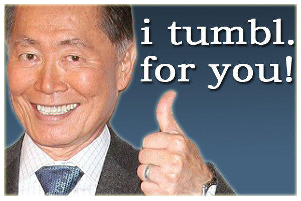 George Takei has joined Tumblr.