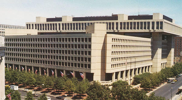 FBI headquarters in Washington. A new FBI report showed a spike in killings of police officers in 2011.