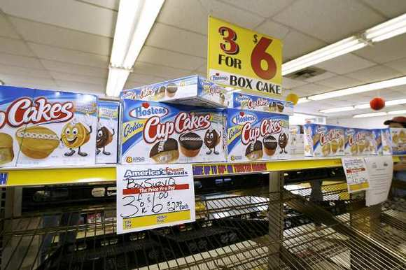 The Hostess Brands outlet store in Glendale is selling off its inventory.