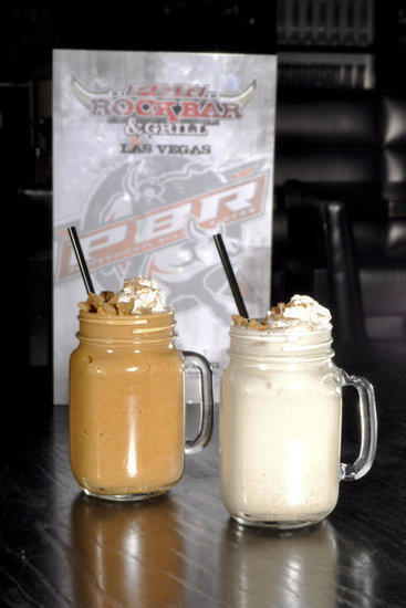 Milkshakes in pumpkin pie and apple pie flavors will be offered at PBR Rock Bar & Grill at the Miracle Mile Shops in Las Vegas.