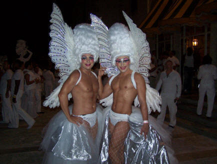 "It's the LGBT event of the year. Join thousands dressed in a sea of white as they dance until dawn at this premier private indoor venue in the heart of Miami's Wynwood Arts district at SOHO Studios.  This year's DJs are DJ Danny Verde and Paulo. Expect appearances by Power Infiniti, Crystal Waters, Elaine Lancaster, the cast of the ""Real Housewives of Miami"" and Kim and Kourtney Kardashian (who will be filming their show at the event). Tickets $30 - $150. Go to Whiteparty.org. 2136 NW 1st Ave., Miami. 10 p.m. - 5 a.m."
