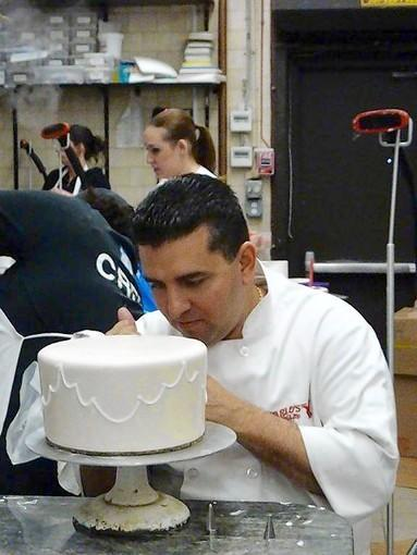 "Buddy Valastro, the ""Cake Boss,"" will talk about his new cookbook Sunday, Nov. 25, at Hickory Stick Bookshop in Washington at 1 p .m. and at the Warner Theatre in Torrington at 7 p.m."