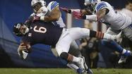 The Chicago Tribune photo team employs a full-on blitz for Chicago Bears Monday Night Football appearances -- we'll have three staff photographers on the field at Candlestick Park and photo editors ready to receive their images back in Chicago.