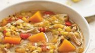 Healthy Recipes: Turkey and Squash Soup
