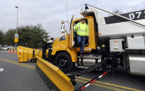 Maryland's newest and biggest snow plow