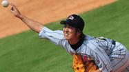 Kyuji Fujikawa, a 32-year-old, hard-throwing right hander who is considered one of the best closers in Japan, toured Camden Yards on Friday and had lunch with, among others, Orioles executive vice president Dan Duquette.