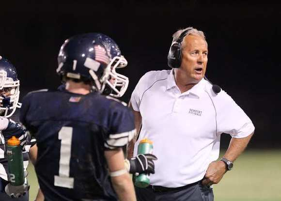 Newport Harbor High football coach Jeff Brinkley has compiled a 249-146-7 record while at three high school with the majority of his time at Newport Harbor.
