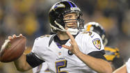 The Ravens are six games away from completing the 2012 regular season, and they are approaching the time when a team might consider signing its franchise quarterback to a contract extension.